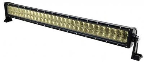 Polaris RZR 32 Inch LED RGB Light Bar Dual Row 180 Watt Combo Ultra Accent Series Quad-Lock/Interlock