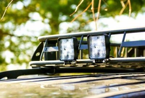Polaris RZR 4 Inch Work Light 15 Watt Flood Fracture Series
