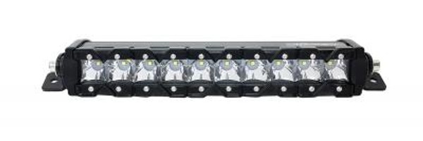 Polaris RZR 13 Inch LED Light Bar Single Row 50 Watt Super Spot Monolith Slim Series by Quake LED