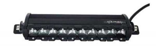Polaris RZR 13 Inch LED Light Bar Single Row 50 Watt Super Spot Monolith Slim Series