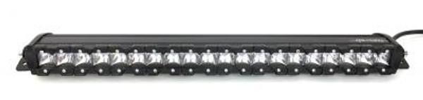 Polaris RZR 23 Inch LED Light Bar Single Row 100 Watt Super Spot Mnonolith Slim Series