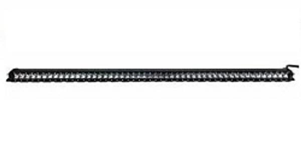 Polaris RZR 53 Inch LED Light Bar Single Row 250 Watt Super Spot Monolith Slim Series by Quake LED