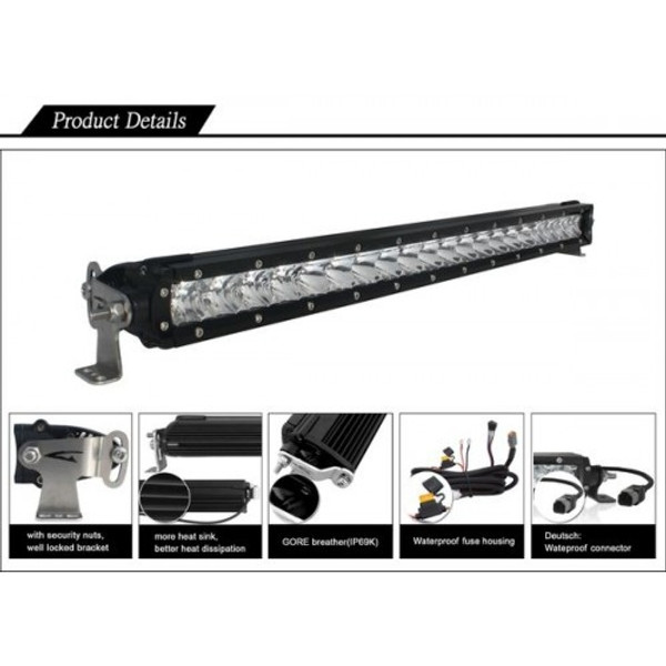 "Polaris RZR 31"" Single Row Light bar"