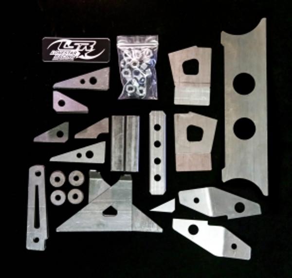 Polaris RZR 570 Gusset Kit by Lonestar Racing