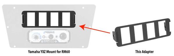 Polaris RZR 4 Switch Panel for RM-60 Mounts