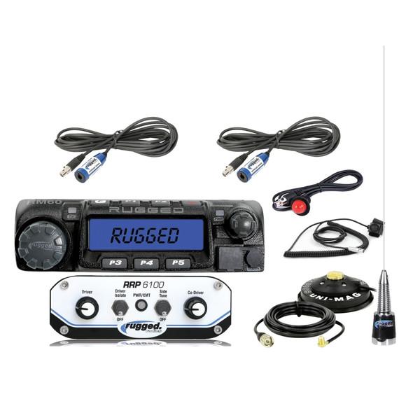 Polaris RZR 2-Place Race System with 60-Watt Radio Kit by Rugged Radios