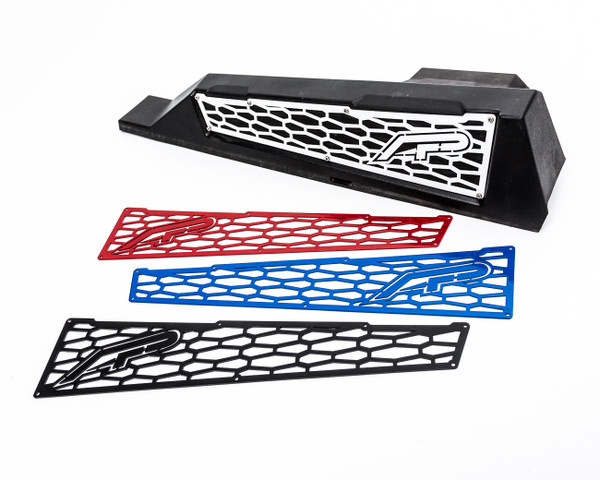 Polaris RZR 1000/XP Turbo Red Aluminum Side Vent Covers by Agency Power