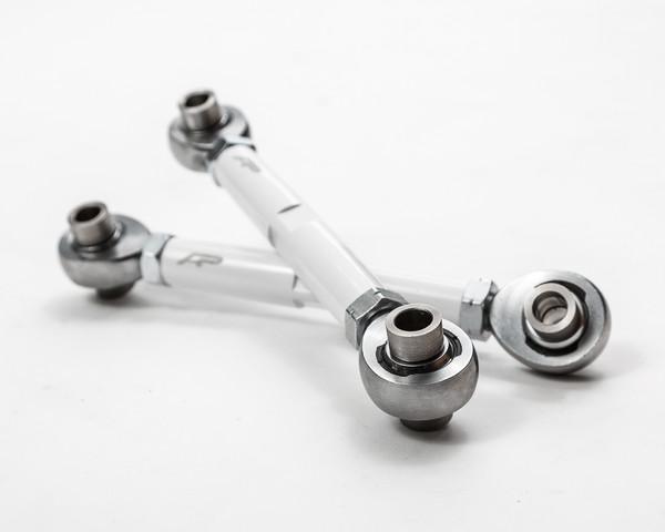 Polaris RZR 1000/XP Turbo White Adjustable Rear Sway Bar Links by Agency Power