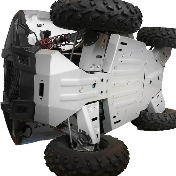 Polaris ACE Aluminum Skid Plate and Guards Kit by Rival Powersports