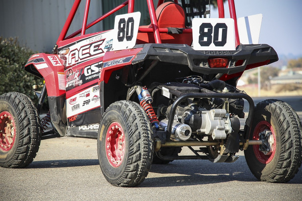 Polaris ACE 150 X-6 Stainless Steel Exhaust System