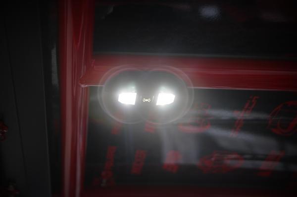 "Polaris RZR 1.75"" Tube Dome Light with Billet Mount"