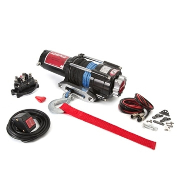 Polaris RZR 4 XP 900 Synthetic 2500LB Winch and Winch Mount Kit