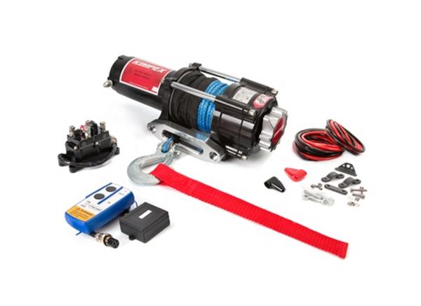 Polaris RZR 4500 lbs Winch Kit Distance Remote by Kimpex (EPRZR)