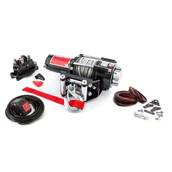 Polaris ACE 150 Steel 2500LB Winch and Winch Mount Kit