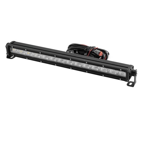 Polaris RZR 21.5 Inch DRL Single Row Light Bar by Quad Boss