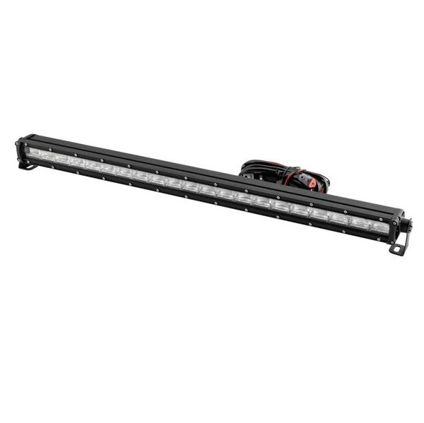 Polaris RZR 31.5 Inch DRL Single Row Light Bar by Quad Boss