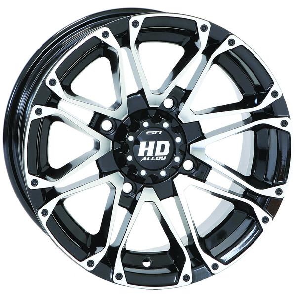 "Polaris RZR 14"" Hd3 Atv Wheels/Rims Machined"