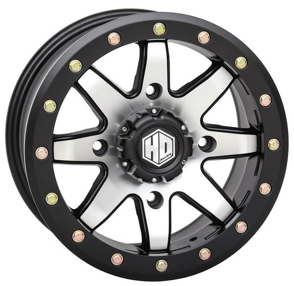 "Poalris RZR Hd9 15"" Beadlock Mh Wheels 34"" Roctane Xd Tires"