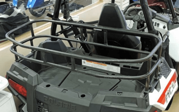 Polaris ACE/ACE 500/ACE 570/ACE 570 SP/ACE 900 SP/ACE 900 XC Rear Cargo Rack by Hornet Outdoors