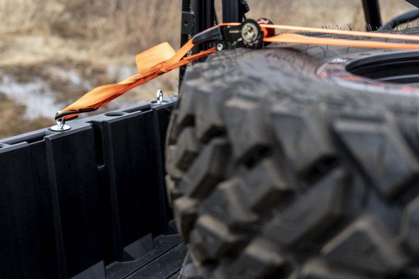 Polaris RZR 570 / 900 / XP 1000 5PC Bed Tie-Down Kit by Rough Country