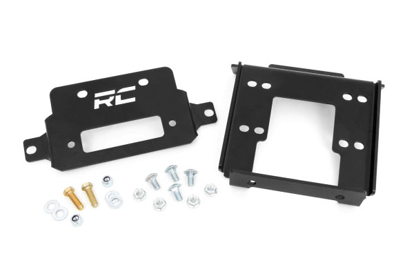 Polaris RZR 1000 Winch Mount Plate by Rough Country