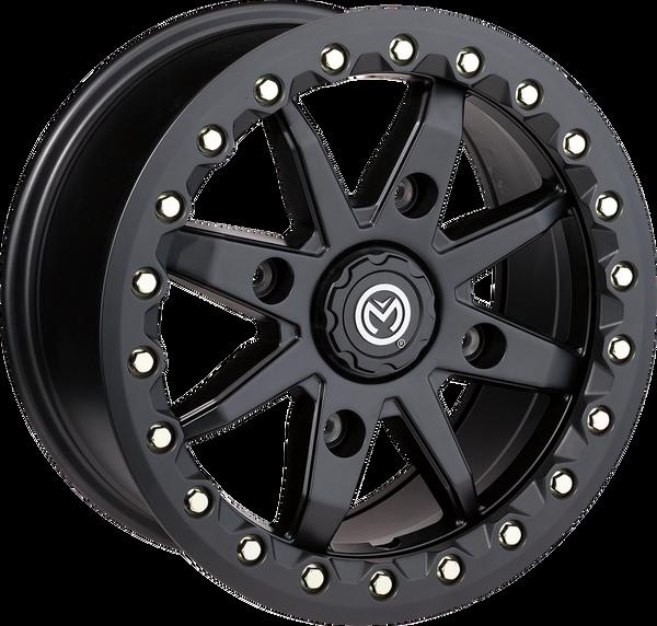 Polaris RZR 544 X Bead Lock 14X7 4/156 Wheel Black by Moose