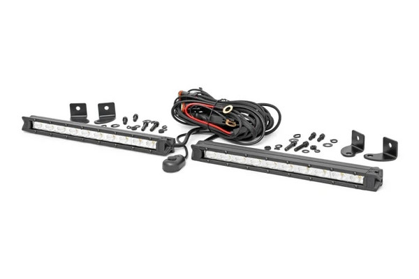 Polaris RZR 10-inch Slimline Cree LED Light Bars (Pair)