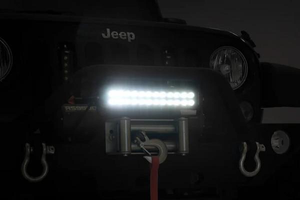 Polaris RZR 12-inch Cree LED Light Bar - (Dual Row | Black Series)