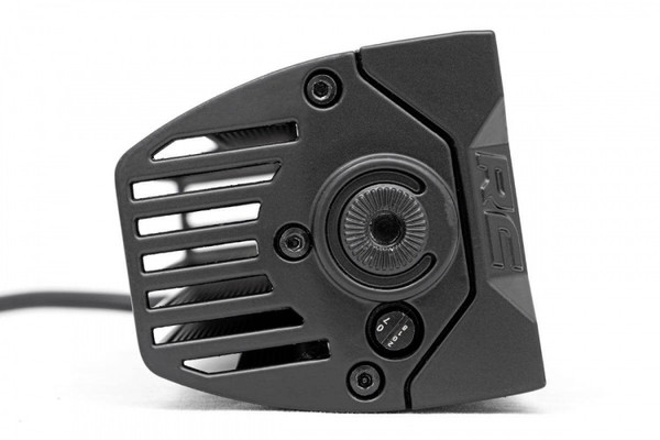 Polaris RZR 2-inch Square Cree LED Lights - (Pair | Black Series w/ Amber DRL)