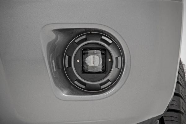 Polaris RZR 2-inch Square LED SAE Fog Lights (Pair)