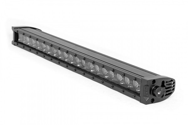Polaris RZR 20-inch Cree LED Light Bar - (Single Row | Black Series w/ Cool White DRL)