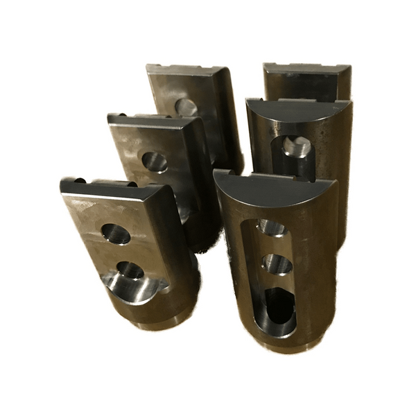 Polaris RZR 1000 Weld In Roll Cage Bungs / Connectors with Wire Hole by AJK Offroad