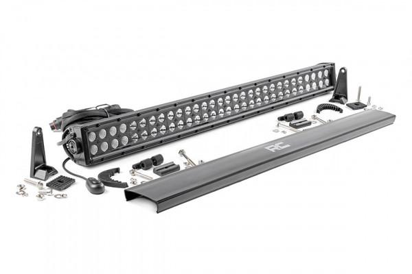 Polaris RZR 30-inch Cree LED Light Bar (Dual Row | Black Series) by Rough Country