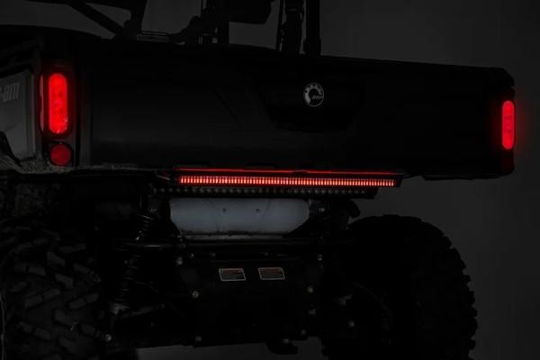 Polaris RZR 30-inch UTV Premium Quad-Row Multi-Function LED Tailgate Light Strip by Rough Country