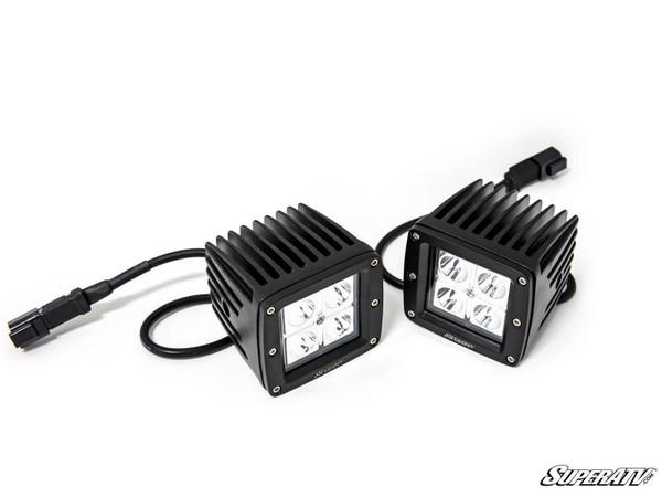 "Polaris RZR 3"" LED Cube Lights by SuperATV"