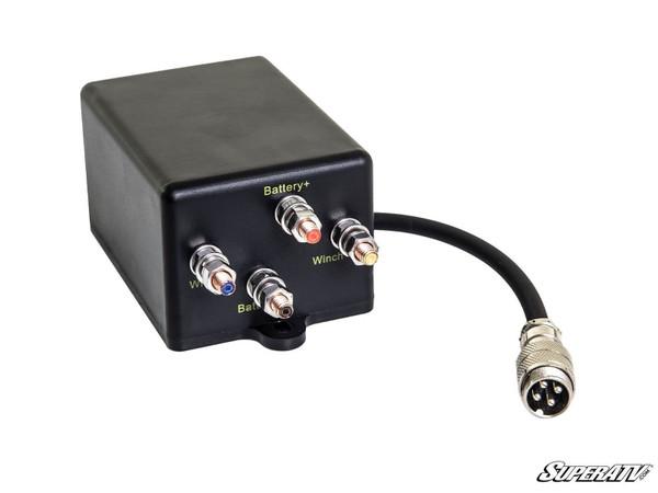 Polaris RZR 2500 Lb. UTV/ATV Winch With Wireless Remote & Synthetic Rope by SuperATV