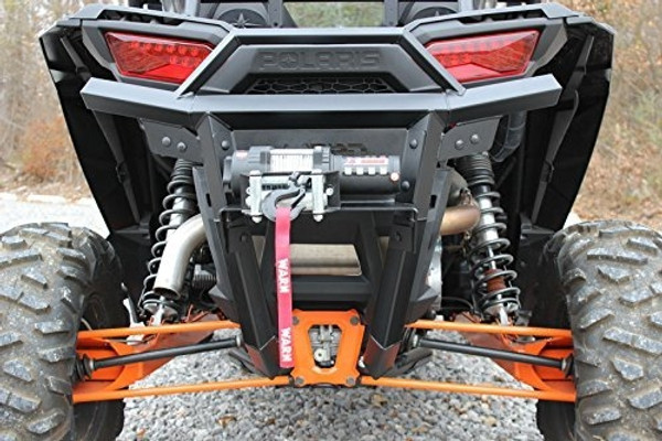 Polaris RZR Rear Square Tube Bumper Assembly by Bad Dawg