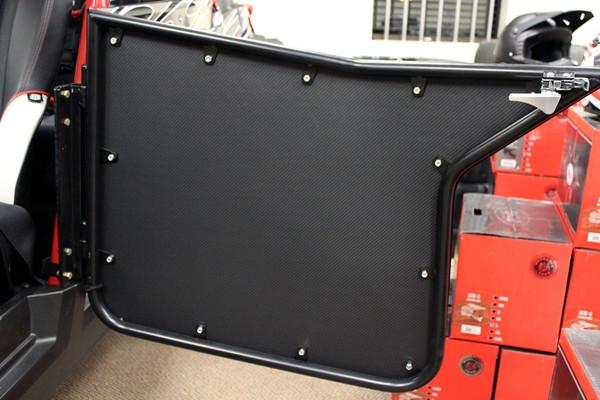 Polaris RZR 4 Seat Carbon Fiber Door Liner Kit by UTV Inc