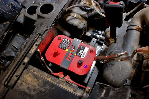 Polaris RZR Optima Battery Tray by UTV Inc