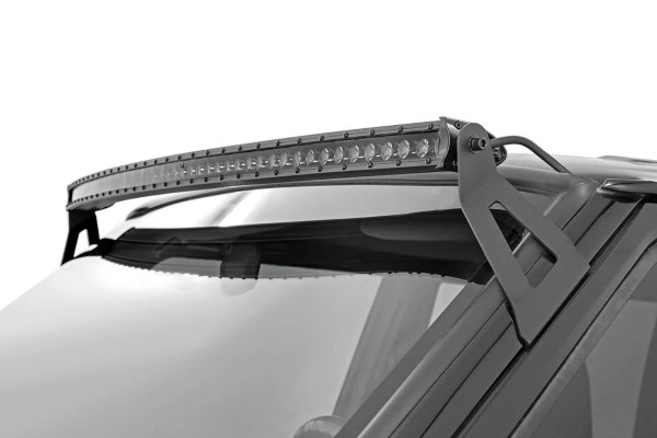 Polaris RZR 50-Inch Curved Cree Led Light Bar - (Single Row   Black Series) by Rough Country