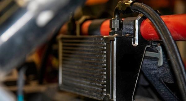 Polaris RZR 1000 / XP Turbo Performance Oil Cooler by Quad Logic