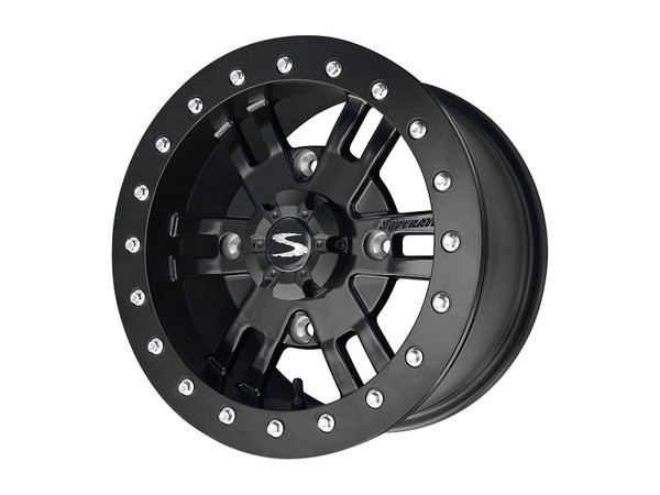 Polaris RZR 18 Inch Healy Fast Series Beadlock Wheels by SuperATV