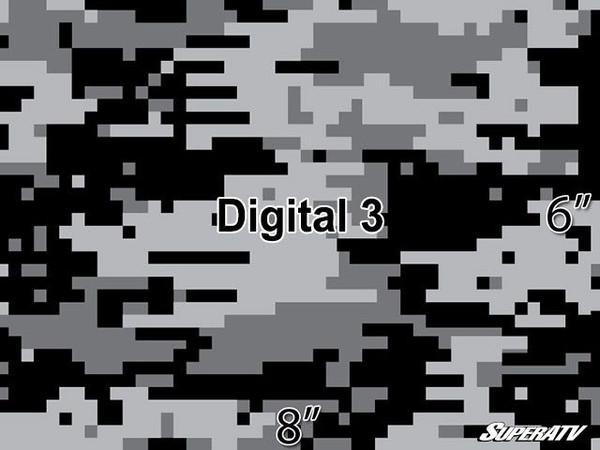 Polaris RZR 570 / 800 / XP 900 Camo Digital Graphic Kit by SuperATV