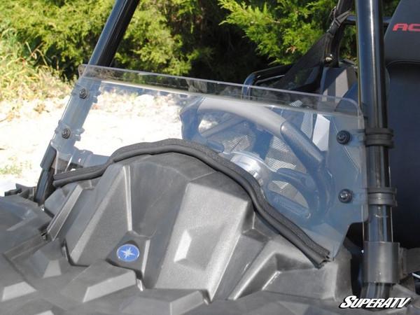 Polaris Ace Scratch Resistant Full Windshield - SuperATV