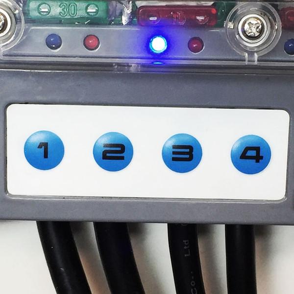 Polaris RZR 4 Switch Accessory Control System w  RF Remote Control by Trigger Accessory Control System