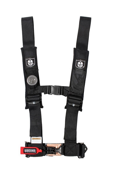 """Polaris RZR 4 Point 3"""" Harness with Sewn in Pads by Pro Armor"""