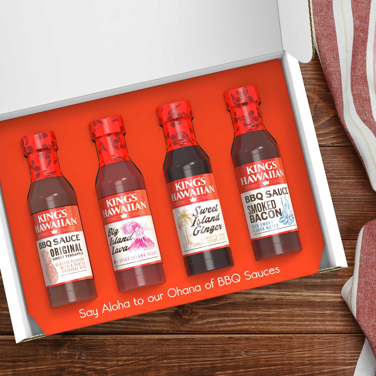 BBQ Sauce Gift Set