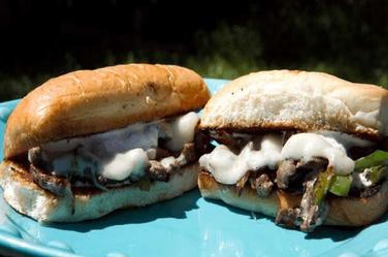 Philly Cheesesteaks With A Homemade Creamy Horseradish Sauce