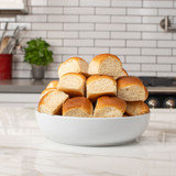 irresistible bowl piled high with 12 delicious King's Hawaiian Original Hawaiian Sweet Dinner Rolls