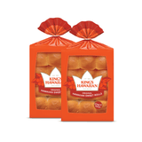 Two packs of King's Hawaiian Original Hawaiian Sweet Dinner Rolls 12ct